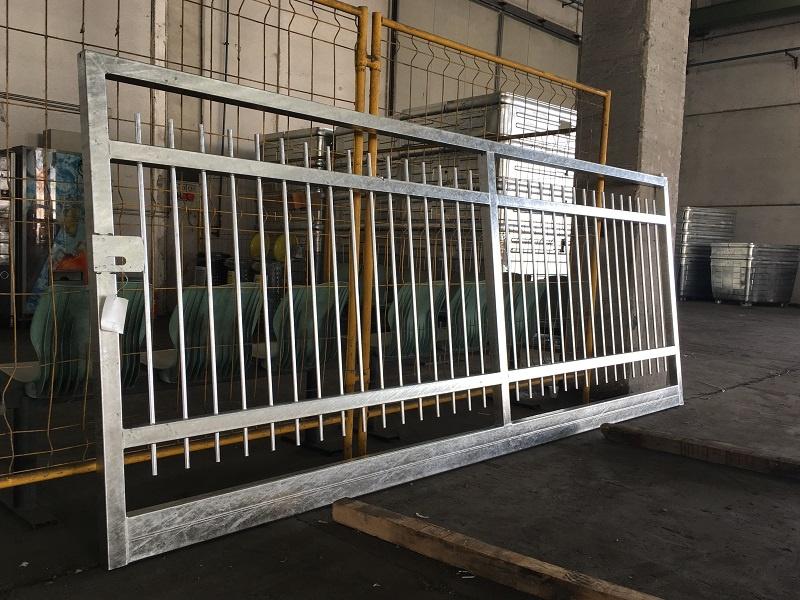 Cancello zincatura verniciatura 8x6