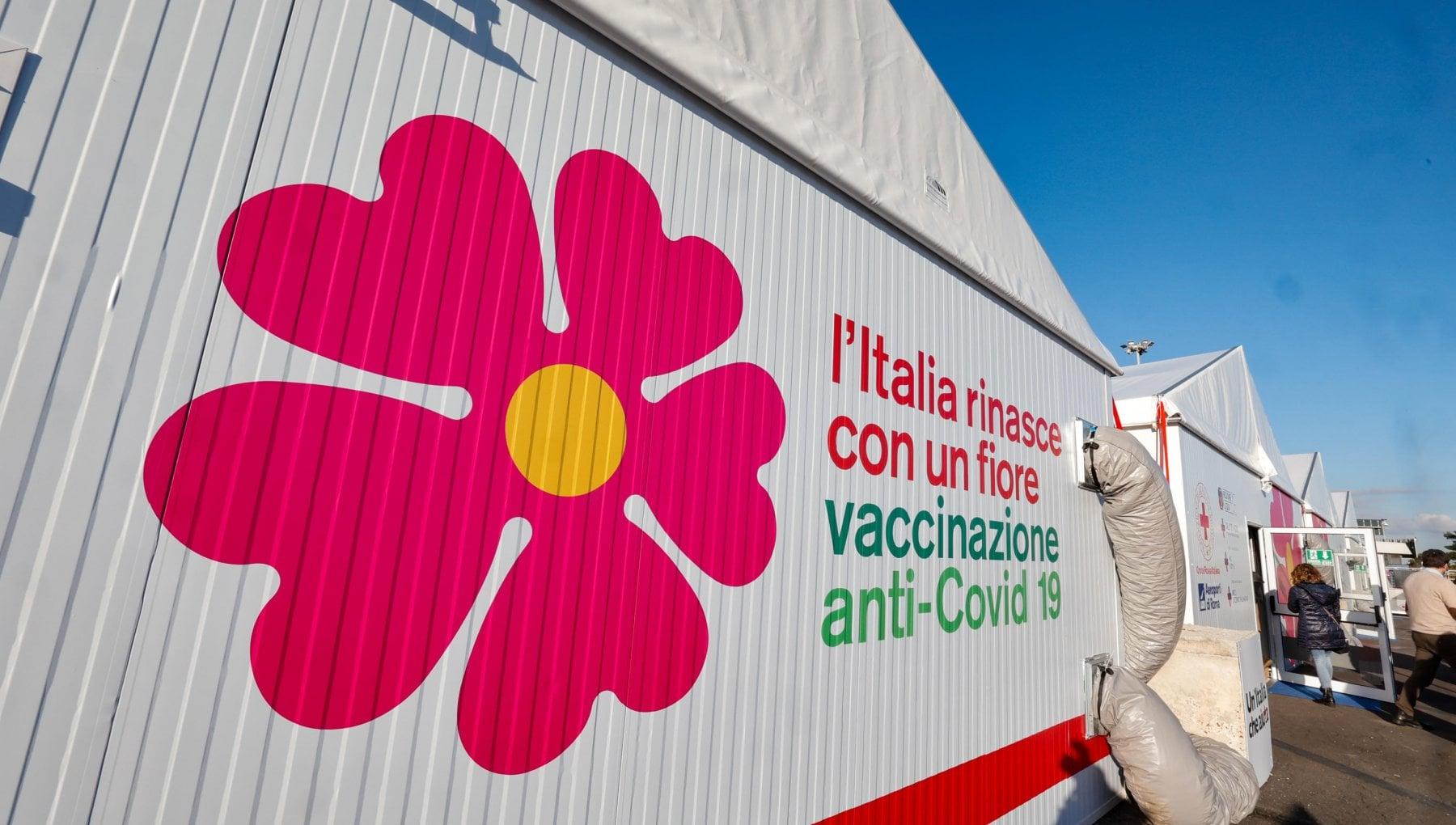 Fiumicino Padiglione Vaccinazioni 2