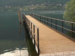 Pontili Lago d' Idro