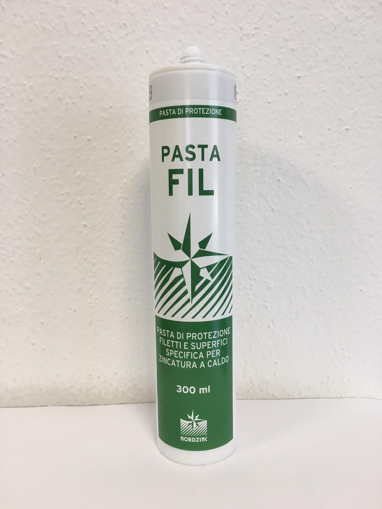 Pasta protezione filetti zincatura